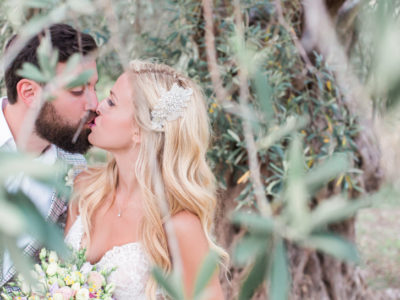 E & N wedding in Agia Anna