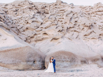 A & V wedding in Santorini