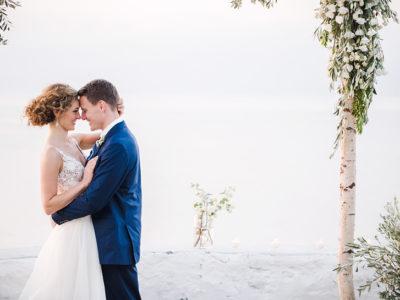 K & S wedding in Hydra