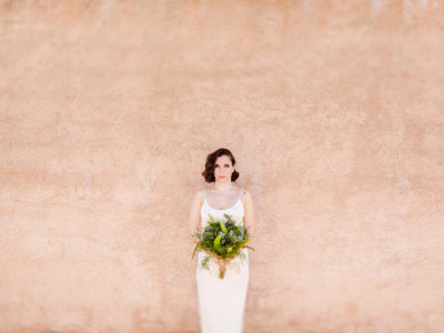 Alternative minimal wedding styled shoot