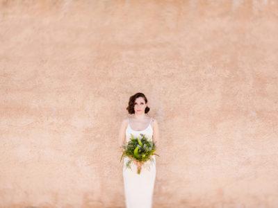 Alternative minimal wedding styled shoot