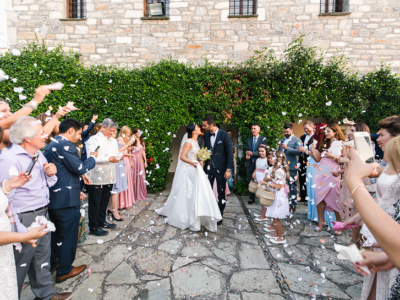 N & H wedding in Pelion